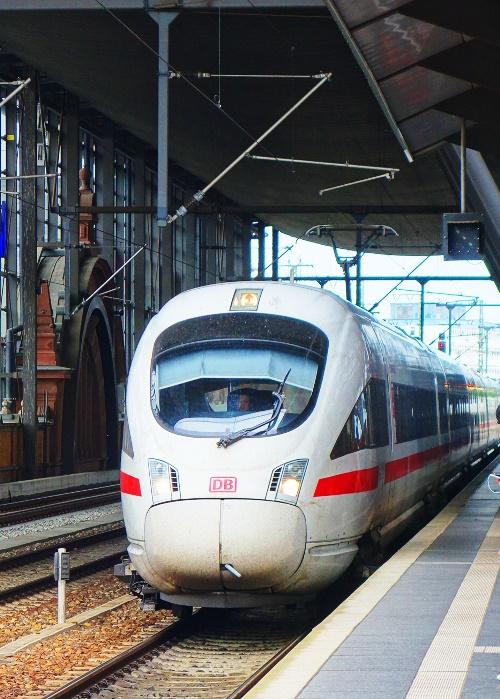 ICE, Erfert, Germany, Train, High Speed Train