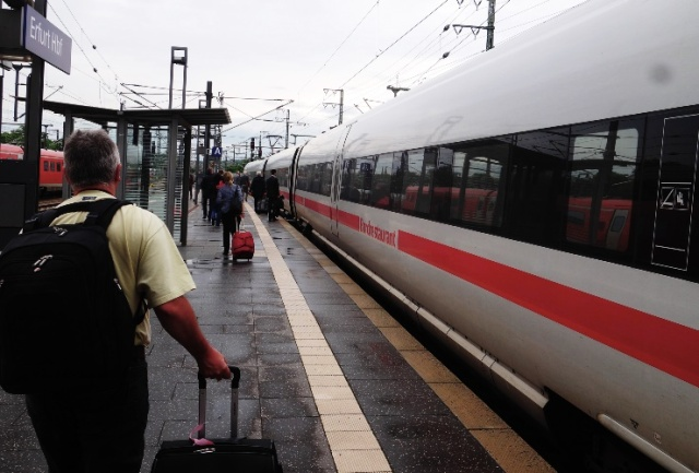 ICE, Erfurt, Germany, Train, High Speed Train