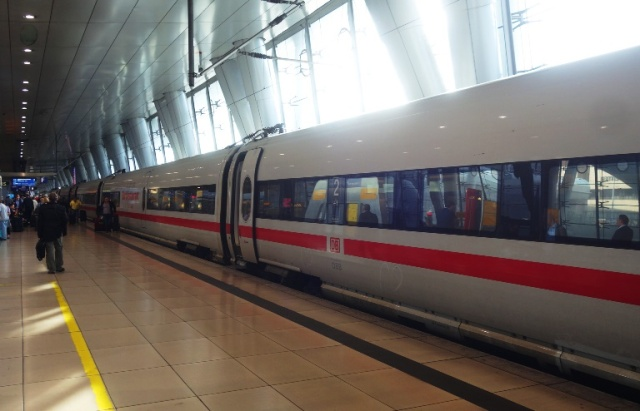 ICE, Frankfurt, Germany, Train, High Speed Train