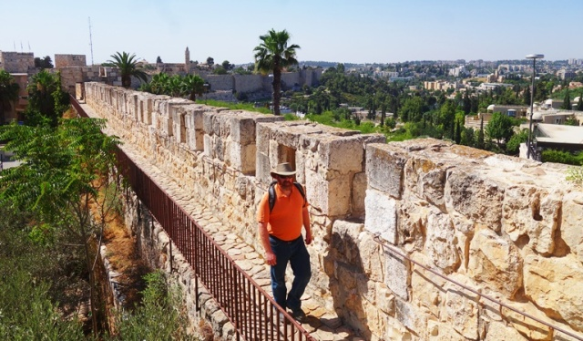 Jerusalem Walls, Ramparts Walk