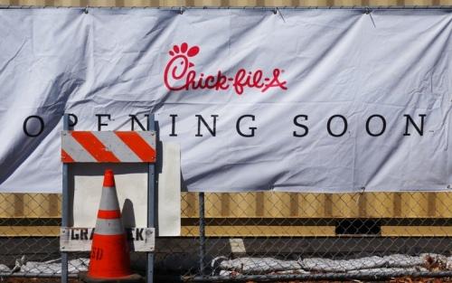 Chick-fil-A Coming Soon, Pleasanton, California, Chick-fil-A, New location