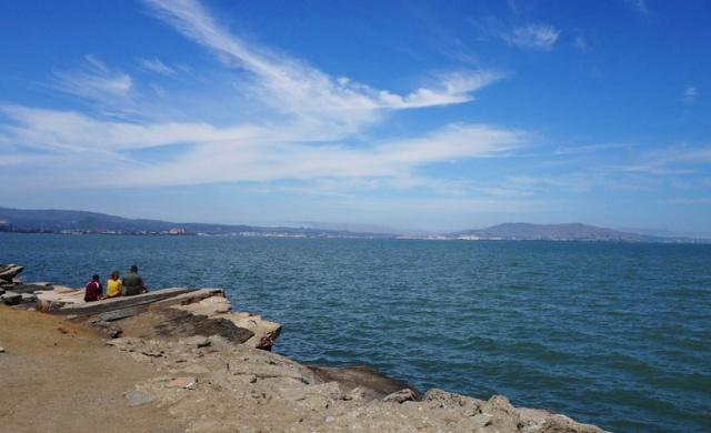 Plane Spotting Point, SFO, San Francisco Bay
