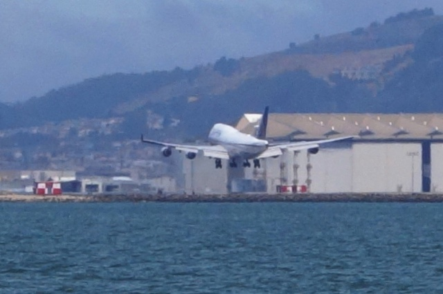 SFO, Landing, Gear Down, San Francisco, United Airlines
