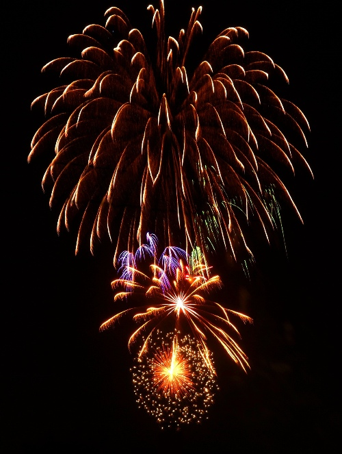 Tracy, California, Fireworks, Fourth of July, Independence Day