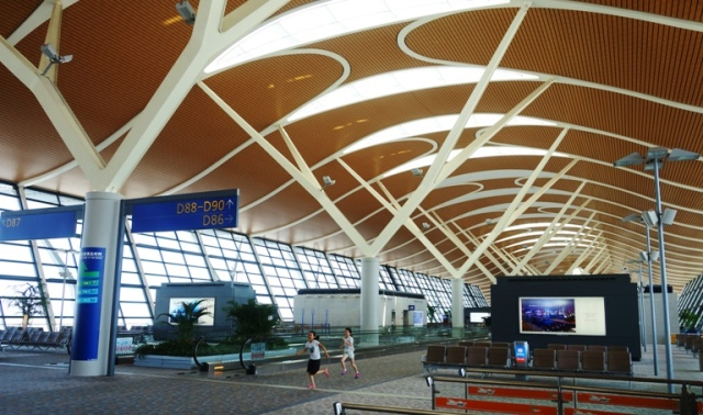 Pudong Airport, Shanghai, China, Terminal, Airport