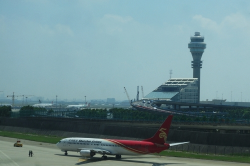 Shenzen Airline, Pudong Airport, Shanghai, Control Tower