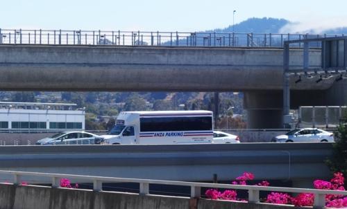 Anza Parking , airpot parking, San Francisco Airport, SFO, Shuttle Bus