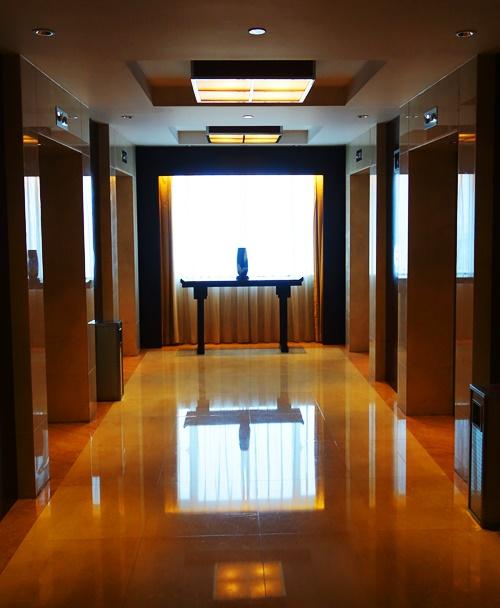 Elevator Lobby, Hotel, Shanghai, Chinese Hotel