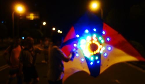 LED Kite, Night Kites, Shanghai, Pudong, Kite Flying