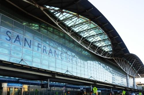 San Francisco Airport, Internation Terminal, SFO, Departures, Airport Terminal