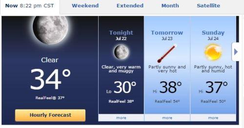 Shanghai Temps, High Temperatures, Hot Temperatures, Heat Index
