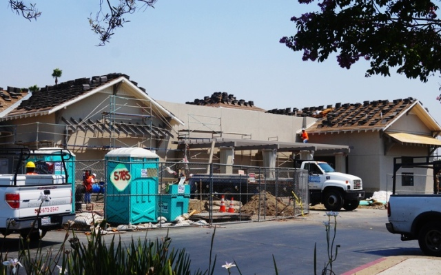 Pleasanton, Chick-fil-A, California, New restaurant, Construction of Chick-fil-A