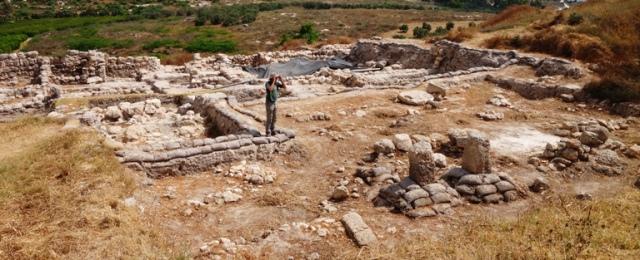 Tel Gezer, Solomonic Palace, Iron Age Palace, Gezer 2015