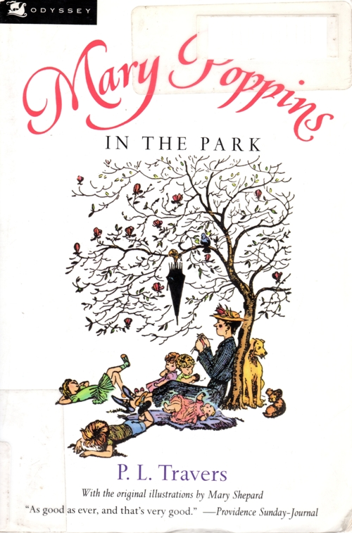 Mary Poppins in the Park, P. L. Travers, Mary Shepard, books