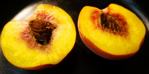 Peach Halves, stone fruit, Eat a Peach Day