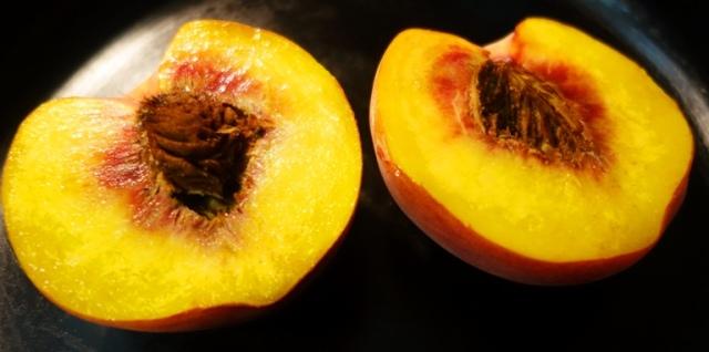 Peach Halves, stone fruit, Eat a Peach Day