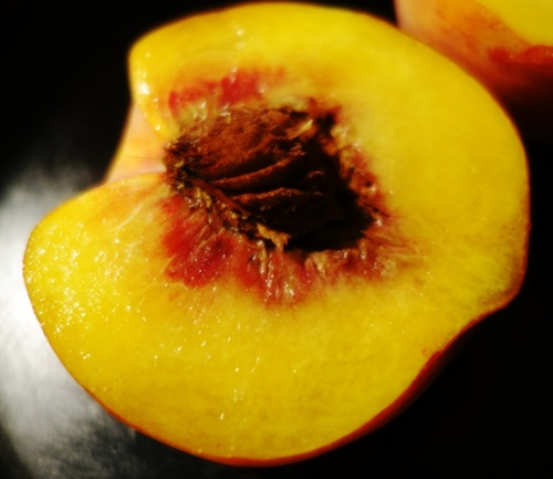 Peach Stone, Eat a Peach Day, Chinese Fruit, Free STone