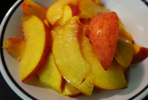 Sliced Peaches, Freestone Peach, national eat a peach day