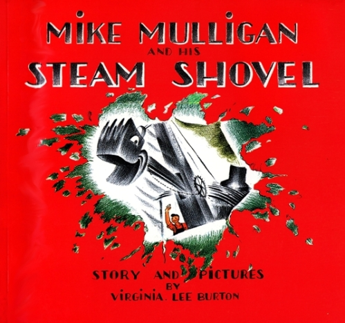 Mike Mulligan, Steam Shovel, Virginia Lee Burton, Children's Books, Illustrations
