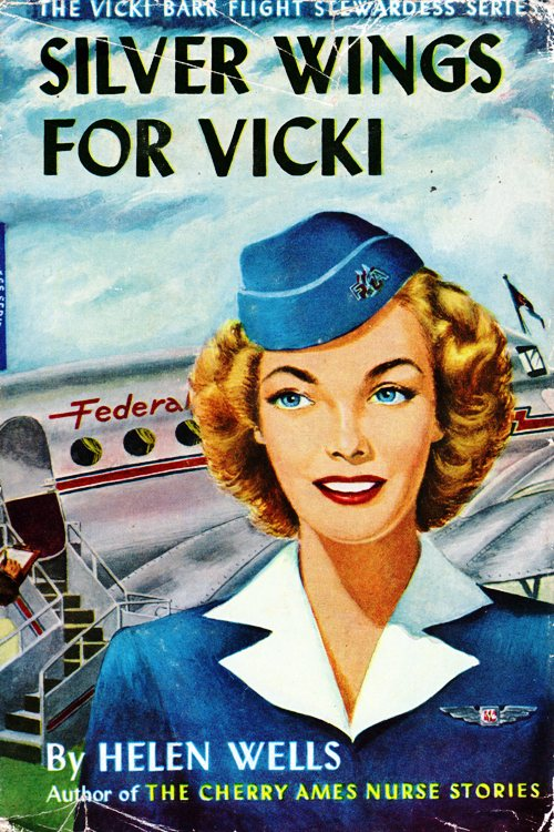 Vicki Barr Flight Sterwardess, Stratemeyer Syndicate, Helen Wells, Books Series