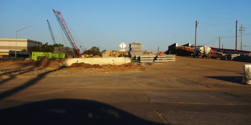 11th Stree Bridge Replacement, Tracy, Calfornia, Bridge reconstruction, construction