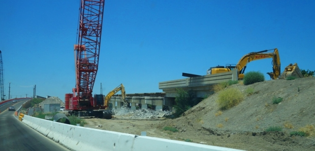 11th Stree Bridge Replacement, Tracy, Calfornia, Bridge reconstruction, construction