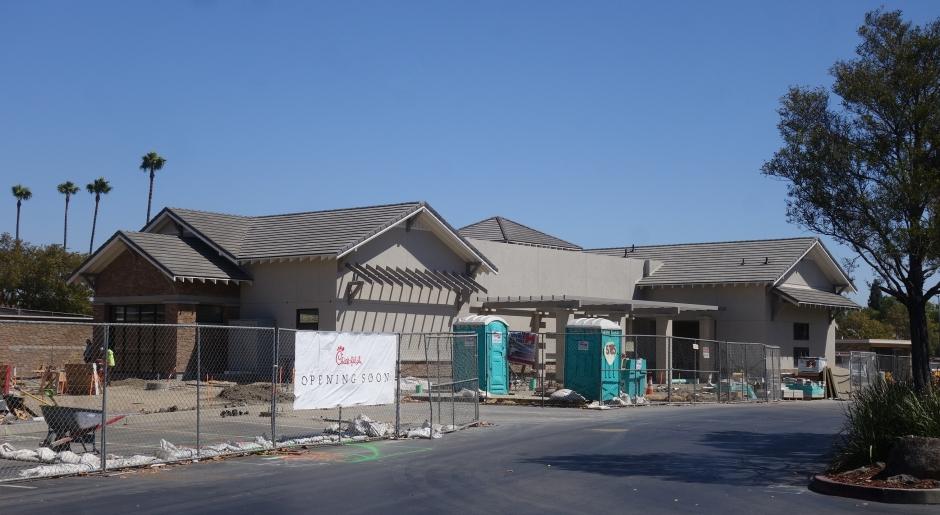 Chick-fil-A Pleasanton, Construction, Hopyard & 580
