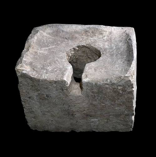8th Century BC toilet, Tel Lachish, Desecration, shrine