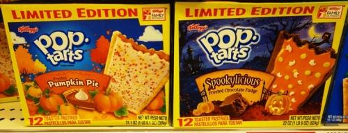 Pumpkin Pie Pop Tarts, Flavors, Pop Tarts, Spookylicious Pop Tarts, Fall Flavors