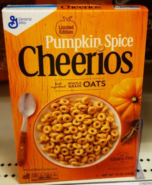 Pumpkin Spice Cheerios, Cheerios, Pumpkin, Oats, Cereal, Fall