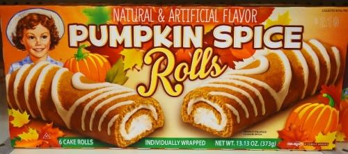 Little Debbies, Pumpkin Spice Rolls, Seasonal Items