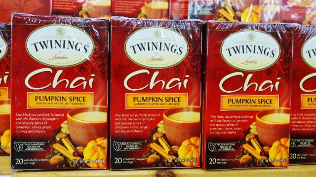 Twinings, Pumpkin Spice Chai, Tea, Seasonal Food Items