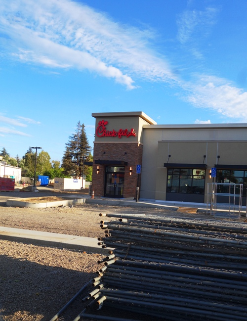 Stockton Chick-fil-A, Opening Soon, Closed on Sundays