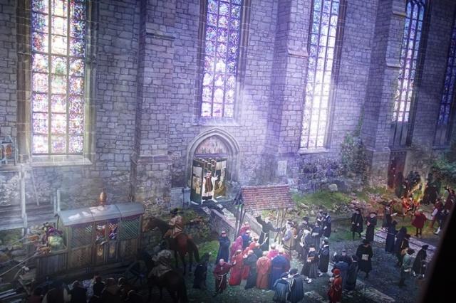 Wittenberg 360, Yadegar Asisi, Luther 1517, Reformation