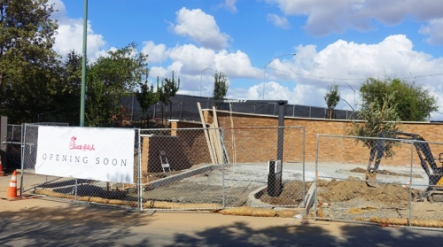 Pleasanton Chick-fil-A, Coming Soon, Opening Soon, Pleasanton, California, Landscaping