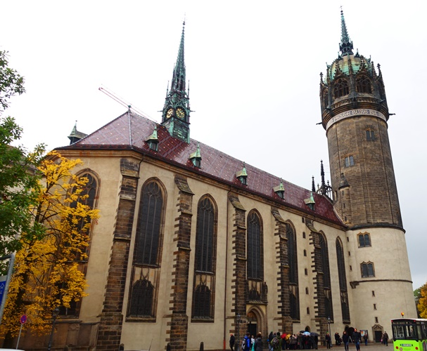 Castle Church Wittenberg Martin Luther 95 theses church doors Mighty Fortress  sc 1 st  Braman\u0027s Wanderings & Castle Church Doors | Braman\u0027s Wanderings
