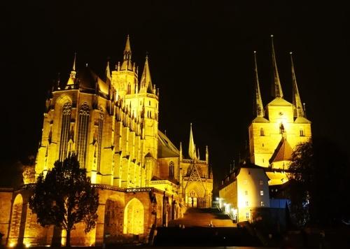 Domplatz, Erfurt, Germany, Erfurt Cathedral, Martin Luther