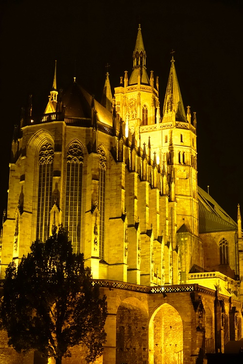 Erfurt Cathedral, Erfurt Germany, Martin Luther, Catholic Church