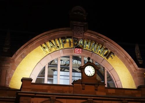 Erfut, Haubptbahnhof, Germany, Train STation