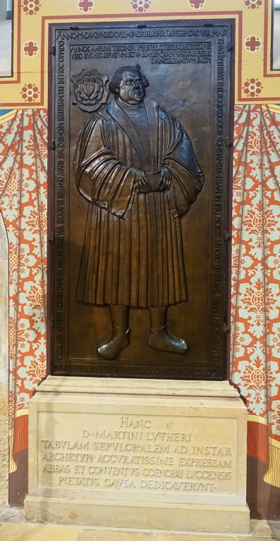 Martin Luther, Castle Church, Wittenberg, Germany