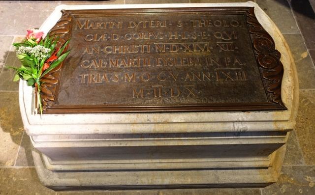 Martin Luther Grave, Castle Church, Wittenberg, Germany