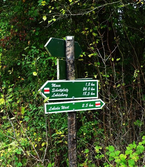 Half Marathon Hike, German Hills, hiking, trails, long hike, Jena, Germany