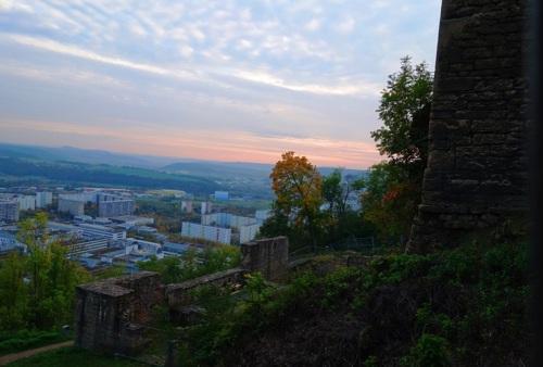 German Sunset, Lobdeburg, German, Long Hike, Jena, Germany