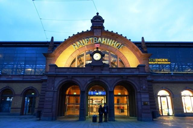 Erfurt, Train Station, Hauptbahnhof, ICE