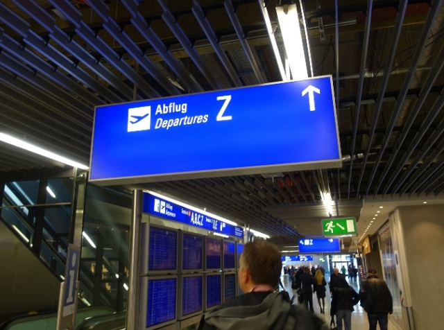 Frankfurt Airport, Z Signs, Terminal Z