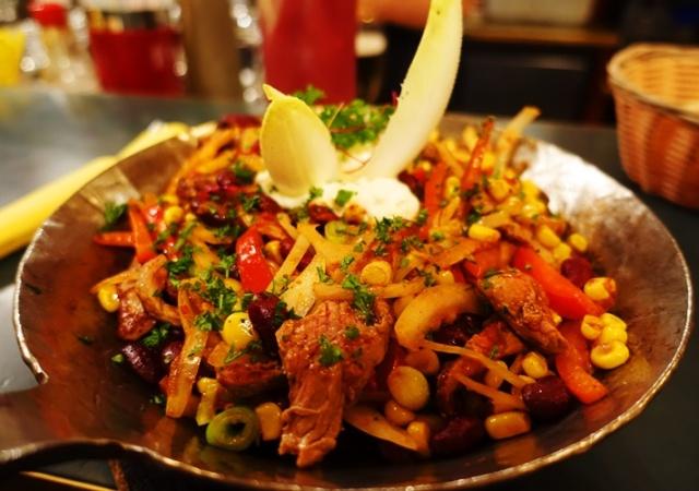 Rote Pfanne, Restauration Stilbruch, jena, Germany, regional food, German food