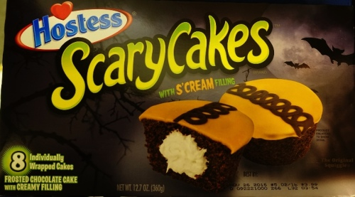 ScaryCakes, Hostess, Snack Cakes, Halloween