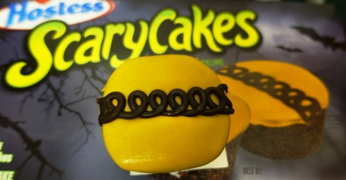 Scary Cakes, Hostess, CupCakes, Halloween Theme, Bats, Squiggle