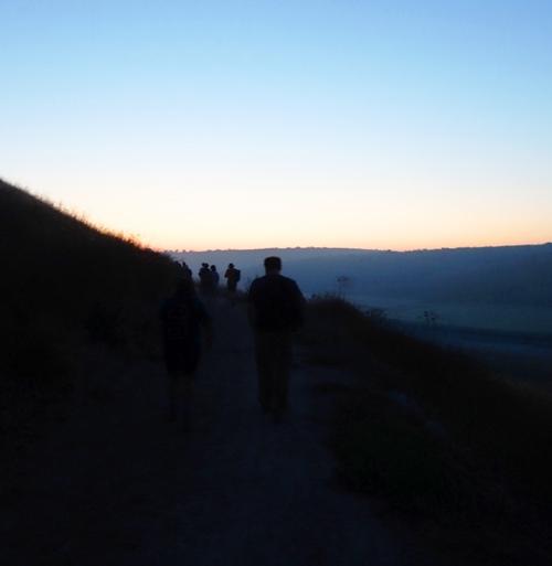 Sihouette, Lachish, Tel Lachish, Archaeology, morning climb