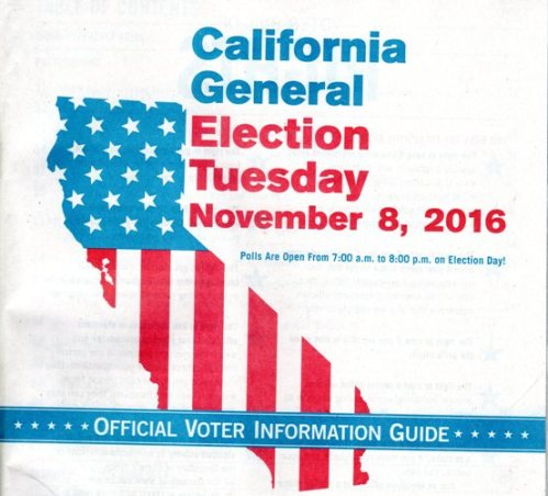 California General Election Voting Guide, 2016 Voting, California